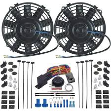 oil cooler with fan dual 6 inch electric oil cooler fan s adjustable temperature