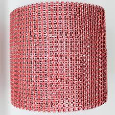 diamond mesh ribbon buy 4 75 x 10 yards light pink diamond mesh wrap roll sparkle