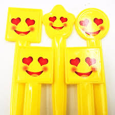 Dutch Flag Emoji 10pcs Set Smile Face Plastic Spoons Party Supplies Smiling Emoji