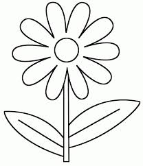printable spring flower coloring pages coloring home