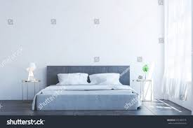 Minimal Bedroom New 3d Rendering Interior Design Minimal Stock Illustration