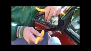 2005 toyota corolla side mirror replacing a subaru forester side mirror glass a hair dryer