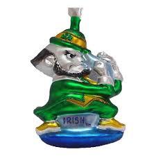 of notre dame leprechaun ornament