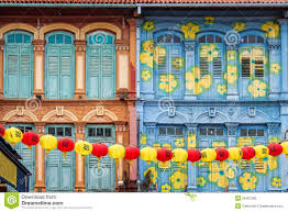 colorful house facades stock photo image 43217548