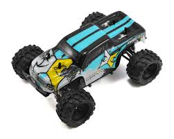 monster jam 1 24 scale trucks ruckus 1 24 rtr 4wd micro monster truck by ecx ecx00013t1 cars