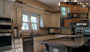 spraying kitchen cabinets cabinet refinishing for kitchen and bathrooms action interior