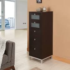 24 Drawer Storage Cabinet by Furniture Of America Brown Five Drawer Storage Cabinet For Office