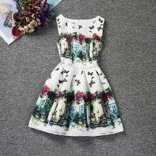 2017 2017 children classic style baby dress model latest
