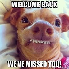 Welcome Back Meme - welcome back meme 28 images welcome back sloth welcome back