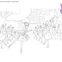 giselle main character ballet coloring pages hellokids