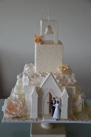 Christmas Cake Decorations Church by This Is The Pattern For My Icing Church You Make With Royal Icing