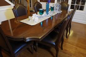 chagrin valley custom furniture u2013 dining room table refinish