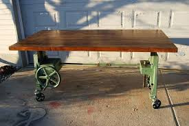 crank table base for sale industrial crank table base inspiring vintage cast iron home
