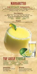 jumbo margarita don rigo mexican bar u0026 grill graphic menus inc