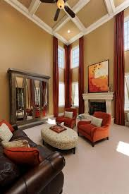 Bright Colored Paint For Living Room Green And Orange Drapes For Living Room Hickory Chair Orange For The Office