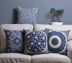 Sofa Decorative Pillows by Online Get Cheap Decorative Pillows Blue Aliexpress Com Alibaba
