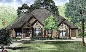 craftsman european ranch tudor house plan elevation building