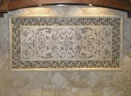 kitchen backsplash murals beige color decorative tile backsplash with murals tiles