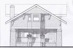 Craftsman Bungalow Plans by New Craftsman Bungalow Prairiearchitect