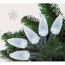 everstar set of 30 white led pine cone c6 lights