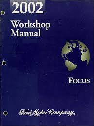 2002 ford focus blue book 2002 ford focus repair shop manual original