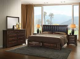 queen size bedroom set with storage amazon com roundhill furniture b179qdmn2 broval 179 light espresso