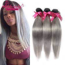ali express hair weave aliexpress peruvian grey straight hair human hair extension