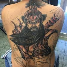 123 gorgeous back tattoos for men and women 2017