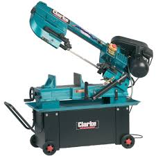 clarke cbs45md 370w metal cutting bandsaw machine mart machine