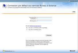 windows 7 bureau à distance installation et configuration terminal serveur appremote sur