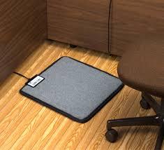 under desk radiant heater amazing foot warmer mat for under your desk throughout heated floor