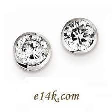 cubic zirconia stud earrings sterling silver cz earrings cubic zirconia jewelry cz rings in