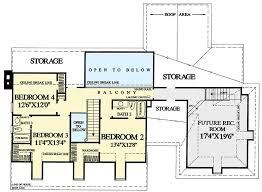 Gambrel House Floor Plans Gambrel Roof House Plan With 4 Or 5 Bedsedrooms 32649wp