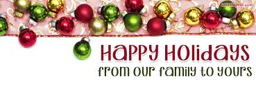 happy holidays your family from our family cover happy
