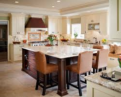 kitchen island with attached table unique modern kitchen island ideas all home design ideas