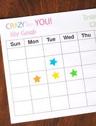 goal setting worksheet u0026 tips crazy little projects