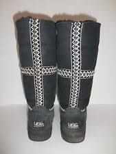 womens ugg boots black ugg sundance boots ebay