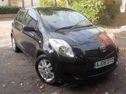 2008 toyota yaris manual toyota yaris 1 3 vvt i tr petrol manual black 5 door 2008 08 reg