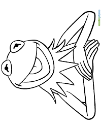 kermit frog coloring pages