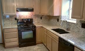 backsplashes kitchen backsplash ideas with santa cecilia granite