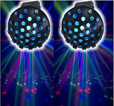 Eliminator Lighting Lot Of 2 Eliminator Electro Swarm Dj Dance Lights See Video B2