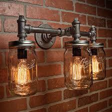 Industrial Lighting Chandelier Industrial Lighting Lighting Jar Light Steunk