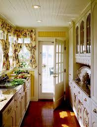 Cottage Galley Kitchen 1930 Style Kitchen Cabinets Kitchen Decoration