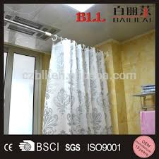 Bendy Shower Curtain Rail - 2015 flexible shower curtain rod flat curtain rods telescopic