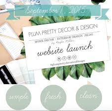 Home And Design Websites Plum Prettyhappy 1st Birthday Plum Pretty Decor U0026 Design Looking