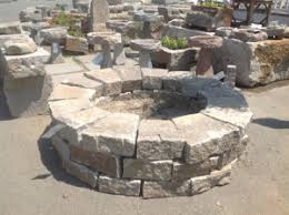 Granite Fire Pit by Reclaimed Granite Fire Pit Kits Olde New England Granite