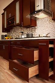 kitchen cabinet pantries kitchen dark cherry cabinets pantry cabinet cherry shaker