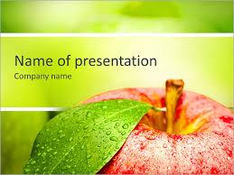 ripe green apple powerpoint template u0026 backgrounds id 0000008183