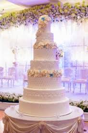 wedding cake indonesia a glamorous navy blue and white wedding cake project by la