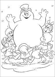 snowman coloring pages pdf snowman coloring pages frosty the snowman coloring pages snowman
